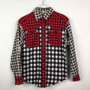 Other - Vintage J Yves-Elliott | Plaid Button Shirt